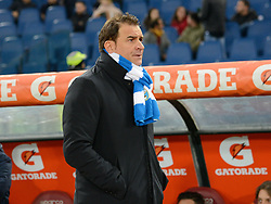 December 1, 2017 - Rome, Italy - Leonardo Semplici during the Italian Serie A football match between A.S. Roma and Spal at the Olympic Stadium in Rome, on december 01, 2017. (Credit Image: © Silvia Lore/NurPhoto via ZUMA Press)