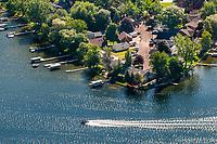 Lake Fenton in Fenton, Michigan