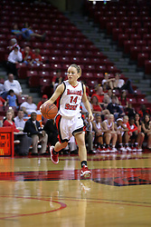 02 November 2008: Amanda Clifton during a game which the Illinois State Redbirds defeated Odyssey on Doug Collins Court inside Redbird Arena in Normal Illinois.