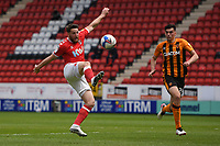 Football -  2020 / 2021 Sky Bet League One - Charlton Athletic vs Hull City - The Valley<br /> <br /> Charlton Athletic's Conor Washington holds off the challenge from Hull City's Jacob Greaves.<br /> <br /> COLORSPORT