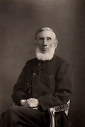 John Tyndall (1820-1893) Irish-born British physicist. Professor at the  Royal Institution, London, 1854. Worked on heat radiation and acoustics. Died of accidental Chloral poisoning.  From 'The Cabinet Portrait Gallery' (London, 1890-1894).  Woodburytype