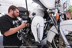 Destination Daytona in Ormond Beach during Biketoberfest, FL, October 18, 2014, photographed by Michael Lichter. ©2014 Michael Lichter