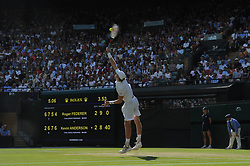 July 11, 2018 - Angleterre - Wimbledon -  Kevin Anderson Afrique du sud (Credit Image: © Panoramic via ZUMA Press)