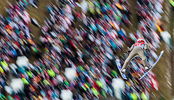 06.01.2016, Paul Ausserleitner Schanze, Bischofshofen, AUT, FIS Weltcup Ski Sprung, Vierschanzentournee, Bischofshofen, Probedurchgang, im Bild Stephan Leyhe (GER) // Stephan Leyhe of Germany during his trial jump of the Four Hills Tournament of FIS Ski Jumping World Cup at the Paul Ausserleitner Schanze in Bischofshofen, Austria on 2016/01/06. EXPA Pictures © 2016, PhotoCredit: EXPA/ JFK