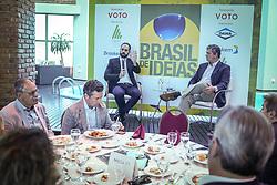 """Brasil de Idéias com os economistas Felipe Miranda e Marcos Troyjo debatem """"Como ganhar dinheiro em 2018"""" no Sheraton Porto Alegre Hotel. FOTO: Jefferson Bernardes/ Agência Preview"""