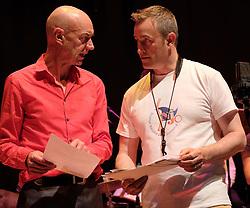 Edinburgh International Film Festival, Friday 23rd June 2017<br /> <br /> TOMMY SMITH RECEPTION<br /> <br /> Tam Dean Burn and Tommy Smith<br /> <br /> (c) Alex Todd   Edinburgh Elite media