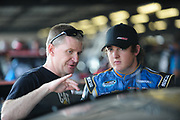 May 10, 2013: NASCAR Nationwide VFW Sport Clips Help a Hero 200,  Ty Dillon, Armour / Hungry Man / Bi-Lo   (Richard Childress), Jeff Burton , Jamey Price / Getty Images 2013 (NOT AVAILABLE FOR EDITORIAL OR COMMERCIAL USE