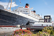 The Historic Queen Mary In Long Beach
