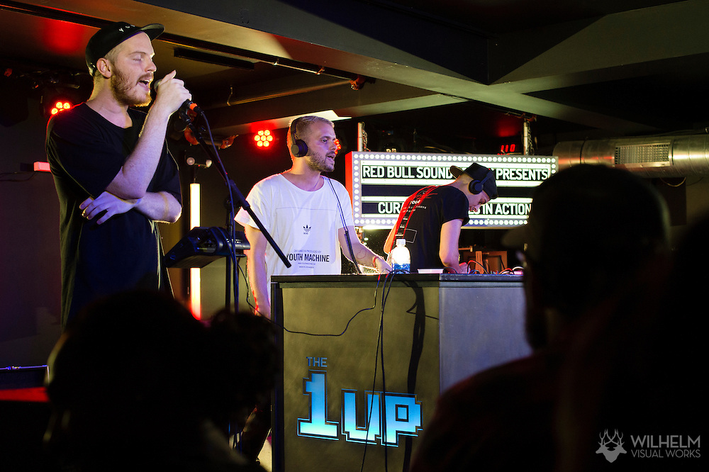 Basecamp performs at Red Bull Sound Select Presents Denver at The 1Up on Colfax in Denver, CO, USA, on 30 July, 2015.