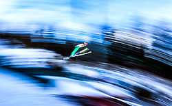 17.12.2016, Nordische Arena, Ramsau, AUT, FIS Weltcup Nordische Kombination, Skisprung, im Bild Fabian Riessle (GER) // Fabian Riessle of Germany during Skijumping Competition of FIS Nordic Combined World Cup, at the Nordic Arena in Ramsau, Austria on 2016/12/17. EXPA Pictures © 2016, PhotoCredit: EXPA/ JFK