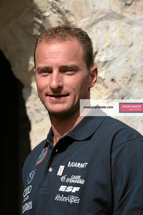 Joël Chenal - Ski Alpin - présentation de l'équipe de France de ski 2007-2008 - Photos exclusives - Paris, le 9/10/2007 - JSB / PixPlanete