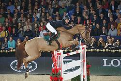Clee Joe (GBR) - Diablesse de Muze<br /> Longines FEI World Cup <br /> presented by Land Rover<br /> Vlaanderens Kerst Jumping Mechelen 2013<br /> © Dirk Caremans