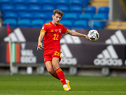 CARDIFF, WALES - Sunday, September 6, 2020: Wales' David Brooks during the UEFA Nations League Group Stage League B Group 4 match between Wales and Bulgaria at the Cardiff City Stadium. (Pic by David Rawcliffe/Propaganda)