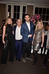 Left to right, Hofit Golan, Touker Suleyman,  Mark-Francis Vandelli and Camilla Kerslake at the Debrett's 500 Party recognising Britain's 500 most influential people, held at BAFTA, 195 Piccadilly, London England. 23 January 2017.<br /> No UK magazines - contact www.silverhubmedia.com