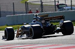 March 1, 2017 - Barcelona, Spain - The Renault of Jolyon Palmer the Formula 1 tests held in the Barcelona-Catalunya Circuit, on march 01 2017. (Credit Image: © Jordi Galbany/NurPhoto via ZUMA Press)
