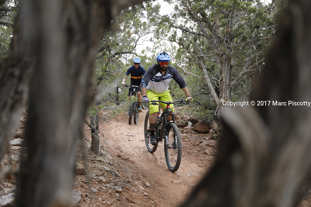 SHOT 8/6/17 4:51:18 PM - UOT Tourism photos of Brian Head and Cedar City, Utah. Images include riding Brian Head Resort in Brian Head, Utah; exploring Cedar Breaks National Monument, hiking Kolob Canyons in Zion National Park and mountain biking the Lava Flow Trail in Cedar City, Utah. (Photo by Marc Piscotty / © 2017)