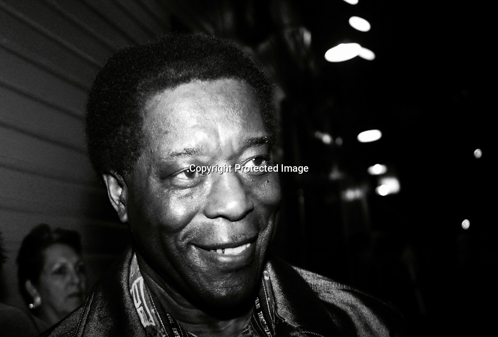 STAFF PHOTO BY STEVEN FORSTER<br />Siren to Wail benefit Tipitina's uptown Saturday November 15, 2003. Buddy Guy.