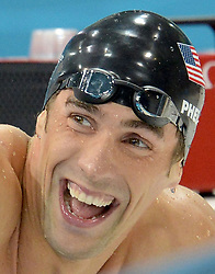 Aug. 2, 2012 - London, England, United Kingdom - MICHAEL PHELPS added to his medal collection with his first individual gold medal of the London Games in the men's 200m  individual medley. (Credit Image: © Xinhua via ZUMA Wire)