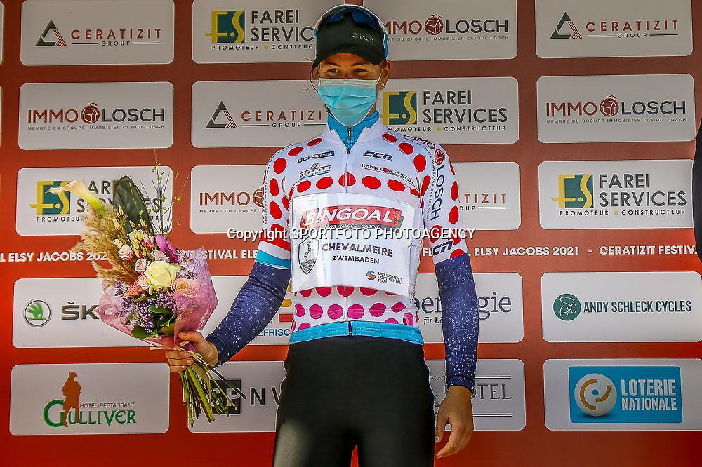 02-05-2021: Wielrennen: Elsy Jakobs : Luxembourg: <br /> Queen of the mountain Thalita de Jong (NED-Bingoal)