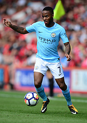 Raheem Sterling of Manchester City - Mandatory by-line: Alex James/JMP - 26/08/2017 - FOOTBALL - Vitality Stadium - Bournemouth, England - Bournemouth v Manchester City - Premier League
