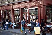 The Market Coffee House, Spitalfields, London.