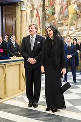 King Willem-Alexander and Queen Maxima visit the Vatican