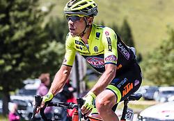10.07.2019, Fuscher Törl, AUT, Ö-Tour, Österreich Radrundfahrt, 4. Etappe, von Radstadt nach Fuscher Törl (103,5 km), im Bild Edoardo Zardini (Neri Selle Italia KTM, ITA) // during 4th stage from Radstadt to Fuscher Törl (103,5 km) of the 2019 Tour of Austria. Fuscher Törl, Austria on 2019/07/10. EXPA Pictures © 2019, PhotoCredit: EXPA/ JFK