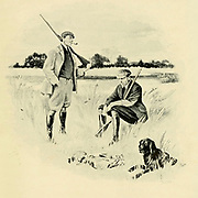 Duck Hunting 1910 From the Book '  Medley of sport ' by Durham, J. M. M. B Published by Gibbings, London in 1910