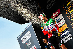 March 15, 2019 - Foligno, Perugia, Italia - Foto Gian Mattia D'Alberto / LaPresse.15/03/2019 Foligno (Italia) .Sport Ciclismo.Tirreno-Adriatico 2019 - edizione 54 - da Pomarance a Foligno  (226 km) .Nella foto:  Elia Viviani (Deceuninck - Quick-Step), vincitore di tappa..Photo Gian Mattia D'Alberto / LaPresse .March 15, 2018 Foligno (Italy).Sport Cycling.Tirreno-Adriatico 2019 - edition 54 - Pomarance to Foligno (140 miglia) .In the pic: Elia Viviani (Deceuninck - Quick-Step), winner of the stage (Credit Image: © Gian Mattia D'Alberto/Lapresse via ZUMA Press)