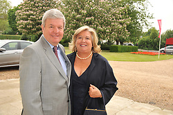 SIR KEITH & LADY MILLS at a Summer Drinks Party hosted by The Friends of The Royal Marsden, Chelsea held at The Royal Hospital Chelsea, Royal Hospital Road, London SW3 on 14th June 2012.