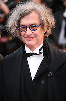 Director Wim Wenders at the red carpet for the gala screening of Jimmy P. Psychotherapy of a Plains Indian film at the Cannes Film Festival 18th May 2013