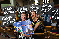 Asking the big questions Nick Barley, Director of the Edinburgh International Book Festival launches the 2017 Book Festival programme. The Book Festival examines not only the big, global questions exploring truth and post-truth, terrorism and fanaticism, gender, diversity and identity, death, globalisation but also celebrates the most joyful, intimate and personal stories of individuals. From 12 to 28 August, conversations, performances, lectures, workshops and discussions featuring 1000 writers from over 50 countries offer multiple perspectives, interpretations and translations of the changing world. <br /> <br /> Pictured: Nick Barley, Director Edinburgh International Book Festival & Janet Smyth, Children & Education Programme Director