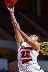 NORMAL, IL - October 30: Lexi Wallen during a college women's basketball game between the ISU Redbirds and the Lions on October 30 2019 at Redbird Arena in Normal, IL. (Photo by Alan Look)