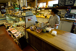 California: Perry's Deli at Inverness Park, Point Reyes National Seashore near San Francisco. Photo copyright Lee Foster. Photo # casanf81391