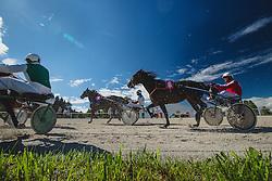 Harness racing competition Kasaski derby 2015 at hippodrome Stozice on 8. September 2015 in , Ljubljana, Slovenia. Photo by Grega Valancic / Sportida