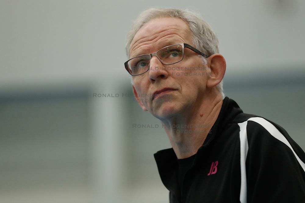 20190131 NED: Semi Final Cup Sliedrecht Sport - Eurosped, Sliedrecht <br />Jan Berendsen, headcoach of Team Eurosped Twente<br />©2019-FotoHoogendoorn.nl / Pim Waslander