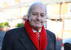 © Licensed to London News Pictures. 01/12/2017. Connah's Quay, UK. Leader of the UK Independence Party in Wales NEIL HAMILTON attends the funeral of Carl Sargeant, who died four days after stepping down from his post in the Welsh Government after unspecified allegations of sexual harassment were made against him. He had denied the allegations. Photo credit: Joel Goodman/LNP
