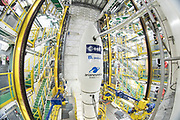 Mcc0084404 . Daily Telegraph<br /> <br /> Aeolus Satellite Launch<br /> <br /> The Vega rocket fuelled and ready to launch with it's Aeolus Satellite payload at the European Space Centre in French Guiana  . <br /> The Aeolus Satellite, designed and built by Airbus in Stevenage ,England contains pioneering technology that will monitor winds around the globe that will change weather forecasting forever .<br /> <br /> Kourou, French Guiana 21 August 2018