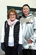 Kick-off De Hollandse 100 2019 van Lymph&Co bij de Jaap Eden IJsbaan in Amsterdam.Lymph&Co is een initiatief van Bernhard van Oranje en heeft als doel de financiering van wetenschappelijk onderzoek naar de aard en behandeling van lymfklierkanker te steunen. <br /> <br /> Op de foto:  Prinses Margriet en Monique des Bouvrie