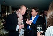 JOHNNIE SHAND KYDD; DANNY MOYNIHAN, Polly Morgan 30th birthday. The Ivy Club. London. 20 January 2010