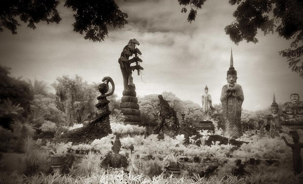 Wat Khaek ( The Garden of the Crystal Grotto) - Nong Khai, Thailand.
