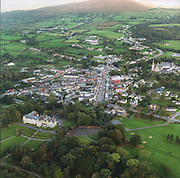 An aerial view of Kenmare town in County Kerry, Ireland.<br /> Photo Sally MacMonagle