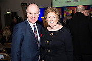 Anthony Ryan and Phylis McNamara Cobwebs at the annual SCCUL Enterprise Awards prize giving ceremony and business expo which was hosted by NUI Galway in the Bailey Allen Hall, NUIG. Photo:Andrew Downes