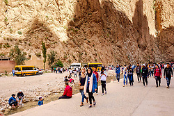 A stroll through the Todra Gorge, Morocco<br /> <br /> (c) Andrew Wilson   Edinburgh Elite media