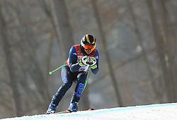 Great Britain's Chris Lloyd in the Men's Downhill, Standing at the Jeongseon Alpine Centre during day one of the PyeongChang 2018 Winter Paralympics in South Korea.