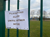 Playgrounds closed until further noticephoto michael butterworth