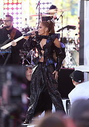 Jennifer López performs live on the Today Show Concert Series. . 06 May 2019 Pictured: Jennifer López . Photo credit: Joe Russo / MEGA TheMegaAgency.com +1 888 505 6342
