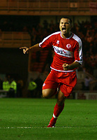 Photo: Andrew Unwin.<br /> Middlesbrough v Chelsea. The Barclays Premiership. 23/08/2006.<br /> Middlesbrough's Mark Viduka celebrates his winning goal.