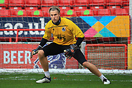 Anssi Jaakkola (32) of Bristol Rovers in the warm up during the The FA Cup match between Walsall and Bristol Rovers at the Banks's Stadium, Walsall, England on 7 November 2020.