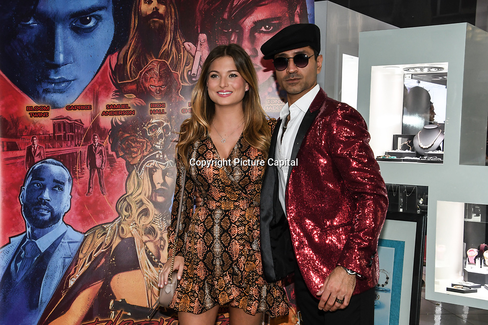 Zara Holland is a Miss Great Britain and on Love Island and Naeem Mahmood arrives at Tresor Paris In2ruders - launch at Tresor Paris, 7 Greville Street, Hatton Garden, London, UK 13th September 2018.